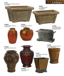 Rectangular Terracotta Planters by Decorative Planters And Urns