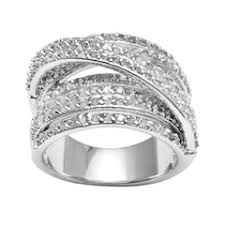 engagement rings kohl s sterling silver rings jewelry kohl s