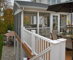 Screened In Patios Pergola And Patio Cover Ideas Landscaping Network