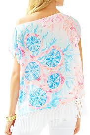 lilly pulitzer jasmine caftan top from sandestin golf and beach