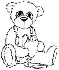 97 coloring pages teddy bears images coloring