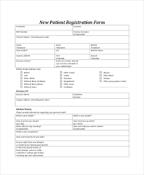 sample registration form 8 examples in pdf word