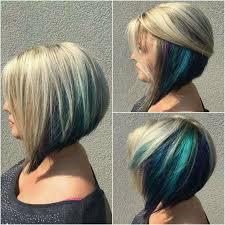 highlights for inverted bob inverted bob w peekaboo highlights hair styles pinterest