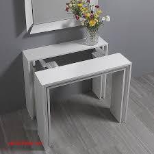 table console pour cuisine luxe console extensible blanc laquee pour idees de deco de cuisine