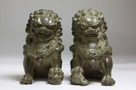 foo dog statue for sale hot sales china bronze animals fengshui foo fu dog wealth lion