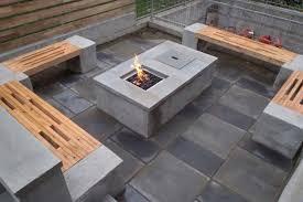 how to build a fire pit table diy concrete fire pit table fireplace design ideas