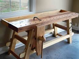 Popular Woodworking Roubo Bench Plans by Roy Underhill Workbench Plans Making The Moravian Workbench W
