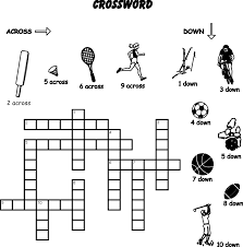 14 sports crossword puzzles kitty baby love