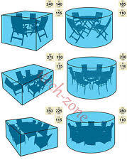 Patio Table Covers Square Polyethylene Deck Chair Garden Patio Furniture Covers Ebay