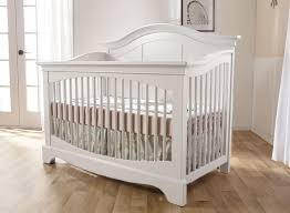 Vintage White Baby Crib by Pali Enna Crib