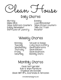 printable evening schedule free printable chore schedule