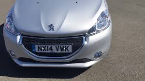 used peugot used peugeot 208 1 2 vti active 5dr silver 2014 youtube
