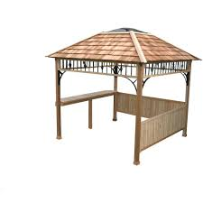 Grill Gazebos Home Depot by Outdoor Living Today 9 Ft X 9 Ft Naramata Spa Shelter N99 The