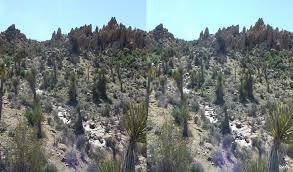 zebra cliffs joshua tree 3d