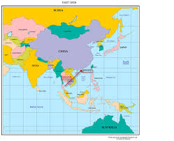 Map Quiz Of Asia by Hong Kong Local Color
