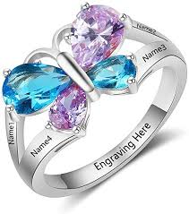 cheap rings images Jewelora custom name rings for women cheap mothers jpg