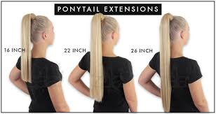 16 inch hair extensions keratin ponytail clip in hair extensions 16 22 26 inch 150gr