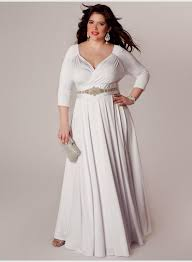 plus size long white dresses with sleeves naf dresses