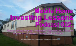 Mobile Homes Houston Texas Mobile Home Investing Loving Cash Flow Loving People