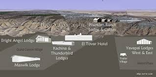 grand map lodging grand national park lodges stay in the park xanterra