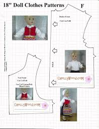 free holiday craft patterns for 18 u2033 dolls chellywood com