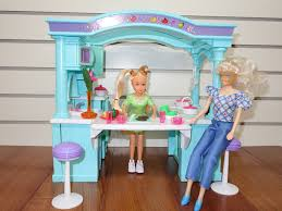 amazon com barbie size dollhouse furniture multifunction mega