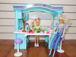 dollhouse furniture kitchen amazon com barbie size dollhouse furniture multifunction mega