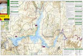 Lake Havasu Map Lake Mead National Recreation Area National Geographic Trails