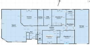 plan de maison de plain pied avec 4 chambres plan de maison gratuit 4 chambres plain pied newsindo co