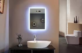 Unique Bathroom Mirrors by Interior Bathroom Mirror With Led Lights Modern Medicine Cabinet