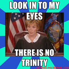 Meme Org - no trinity here meme jwnews j w news