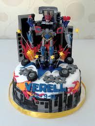 optimus prime birthday optimus prime cake cakes cake birthday cakes and food