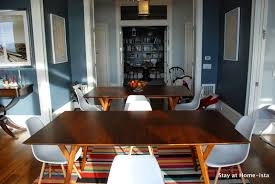 stay at home ista dining room update 2 tables