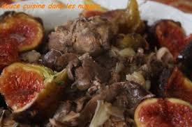 cuisiner un lapin de garenne recette lapin de garenne aux figues 750g