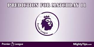 epl matchday 11 league predictions and preview matchday 11