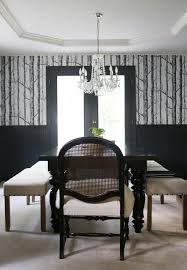 dining room makeover pictures dark woodsy dining room makeover jones design company
