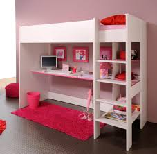 bunk bed with sofa underneath suddenly bunk beds with desks underneath loft bed desk armless brown