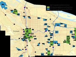 Downtown Portland Map by Business Oregon Eb 5 Program Maps 2017