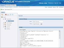 oracle business intelligence publisher user u0027s guide