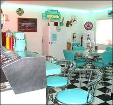 Best BacktoSchool Party Images On Pinterest Diner Party - Fifties home decor