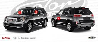 gmc envoy touch up paint color n drive
