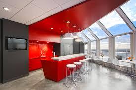 contemporary office interior design unique shaped furniture of