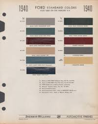 paint chips 1940 ford truck ford rebuild pinterest paint