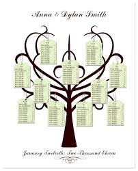 template table plan wedding template