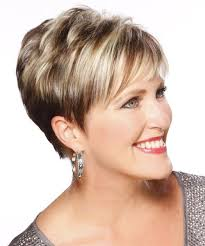 formal short hair ideas for over 50 short straight formal hairstyle with layered bangs light
