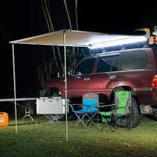 4 Wheel Drive Awnings Ridge Ryder Led 4wd Awning Shade 2 5 X 2 0m Supercheap Auto
