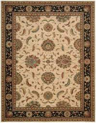 Brown And Beige Area Rug Living Treasures Area Rugs Products
