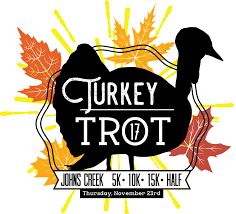 five thanksgiving turkey trot 5k 10k 15k half marathon