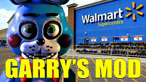 Walmart Map Bonnie Visits Walmart Gmod Toy Bonnie Mod Youtube