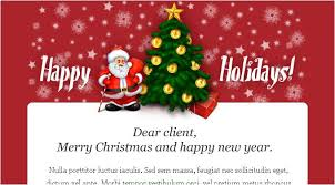 christmas wishes email template business plan template idea